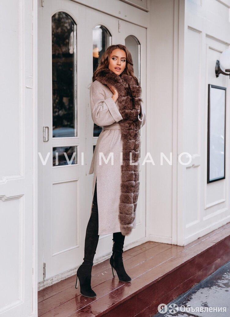 Пальто зимнее с мехом по цене 29400₽ - Пальто, фото 0
