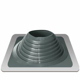 Дымоходы - Дымоход Проходник д/крыш прямой №8 серебро (силикон) Д=180-330 «Э/Т», 0