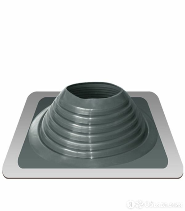 Дымоход Проходник д/крыш прямой №8 серебро (силикон) Д=180-330 «Э/Т» по цене 2190₽ - Дымоходы, фото 0