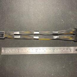 Компьютерные кабели, разъемы, переходники - PCIE 8 pin to 2 PCIE 6+2 pin 20см для видеокарты, 0