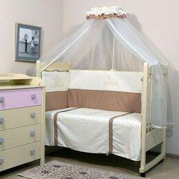 Постельное белье - Комплект постели в кроватку Топотушки Бамбино , 0