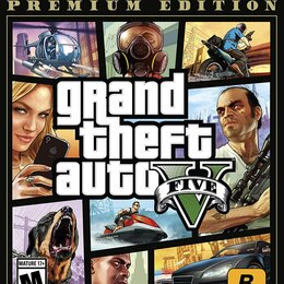 Игры для приставок и ПК - Grand theft auto v. premium edition, 0