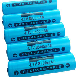 Батарейки - Аккумулятор 18650 4.2V 8800 mAh, 0
