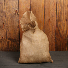 Шпалеры, опоры и держатели для растений - Мешок джутовый, 44 × 69 см, плотность 190 г/м², «Урожайный», 0