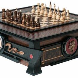Игровые столы - Шахматный стол «Династия» 3 в 1 75*85*26 см., 0