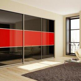 Шкафы, стенки, гарнитуры - Двери-купе ⭐ для шкафа ⭐ или гардеробной 🔥 с цветным стеклом, 0