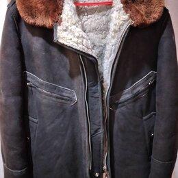 Куртки - Куртка летная меховая нагольная ввс ссср, 0