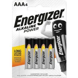 Батарейки - Батарейки Energizer Power E92/AAA 4 шт., 0