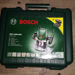 Фрезеры - Фрезер BOSCH POF 1400 ACE 1400 Вт + набор фрез + кейс, 0