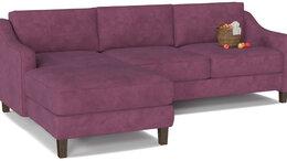 Мебель для кухни - Диван угловой Lima Velutto 15 нераскладной, 0