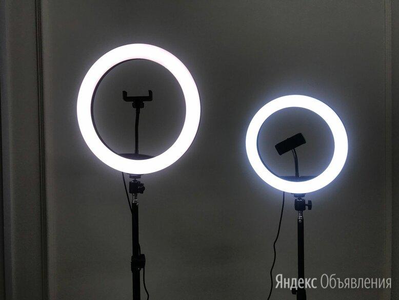 Кольцевая лампа со штативом 32см по цене 2000₽ - Осветительное оборудование, фото 0