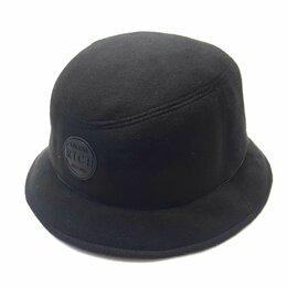 Головные уборы - Шляпа панама мужская шерстяная LF (черный), 0