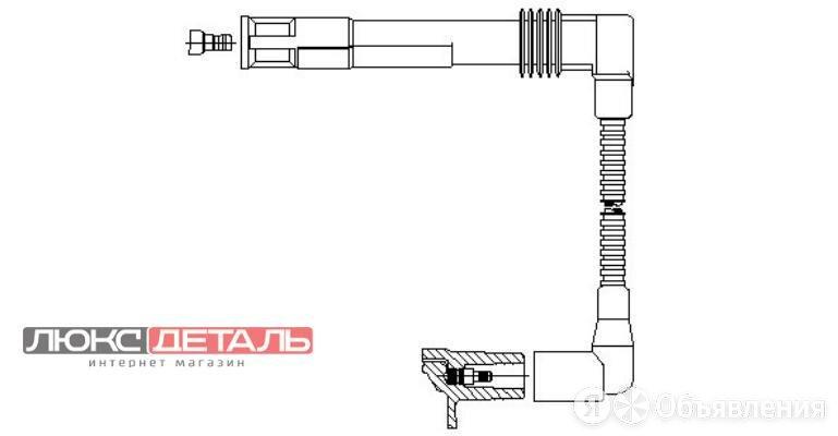 BREMI 19644 BR-196/44_провод высоковольтный 2,4-й цилиндры\ Audi A4/A6/A8, VW... по цене 1455₽ - Электрика и свет, фото 0