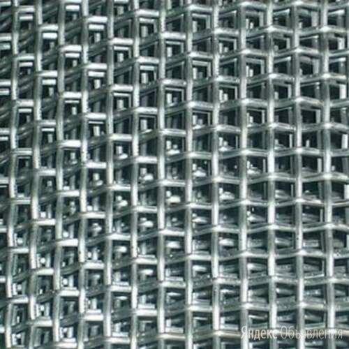 Сетка тканая стальная 20 ГОСТ 3826-82 по цене 96450₽ - Металлопрокат, фото 0