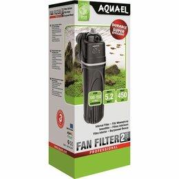 Оборудование для аквариумов и террариумов - ✅Помпа-фильтр внутр.FAN-2 plus 450л/ч,7,2W,на 100-150л. регул.мощн., 0