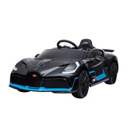 Электромобили - Детский электромобиль Bugatti Divo 12V - BLACK - HL338, 0