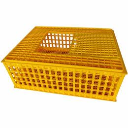 Клетки и домики - Ящик для перевозки птицы PTC-01, 0