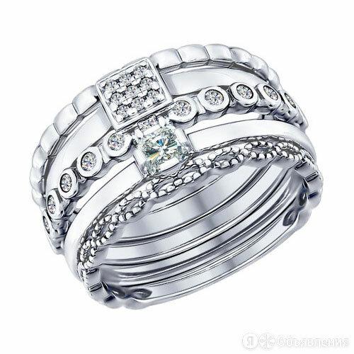 Кольцо SOKOLOV 94011707_s_18-5 по цене 1880₽ - Кольца и перстни, фото 0