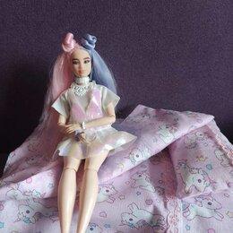 Аксессуары для кукол - Постельное для Барби., 0