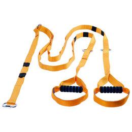 Эспандеры и кистевые тренажеры - ONLITOP Эспандер-многофункциональный тренажёр «Петли», регулируемый карабином..., 0