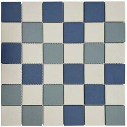 Мозаика - Мозаика Tessare 30,6х30,6х0,6см керамика сине-голубой шт(HSN2181), 0