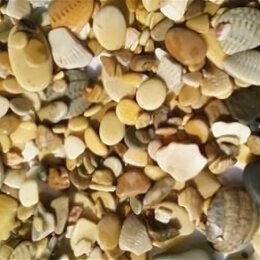 Грунты для аквариумов и террариумов - Уют Грунт натуральный Каспий, средний. 5-10 мм, 0,5 кг., 0