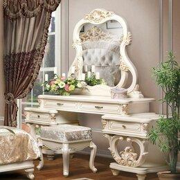 """Столы и столики - Туалетный столик """"Офелия"""" с зеркалом и пуфом, 0"""