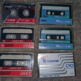 Музыкальные CD и аудиокассеты - Аудиокассеты basf,sony,SNC,TDK и др. с записью, 0