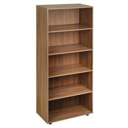 Шкафы для документов - Шкаф для документов открытый 800х404х1900 Ясень шимо темный, 0