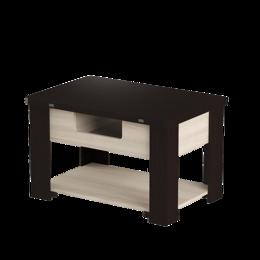 """Столы и столики - Стол-трансформер """"Стэп 4"""" венге/ ясень шимо светлый, 0"""