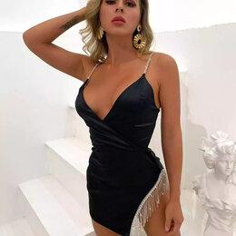 Платья - Платье на бретельках, 0
