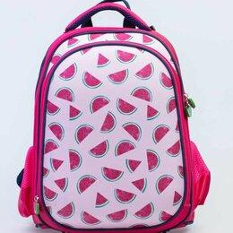 Рюкзаки, ранцы, сумки - Рюкзак школьный детский розовый Котофей, 0