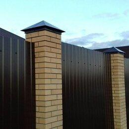 Заборчики, сетки и бордюрные ленты - Забор из профнастила / профлиста, 0