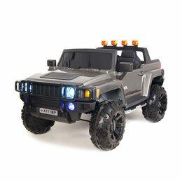 Электромобили - Электромобиль детский Hummer с дистанционным управлением A777MP, 0