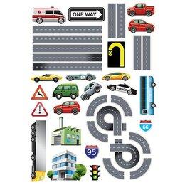 Интерьерные наклейки - Наклейка декоративная Декоретто Автомагистраль KL 6001, 0