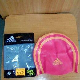 Аксессуары для плавания - Adidas новая шапочка детская для купания плавания, 0