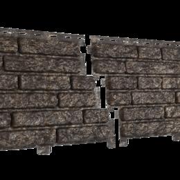 Фасадные панели - Сайдинг Ю-Пласт Стоун-хаус Кварцит, 0