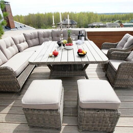 Плетеная мебель - Садовая мебель из искусственного ротанга, 0