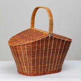 Наборы для пикника - Корзина для пикника  с крышкой , 42х28 Н27/46 см, 0