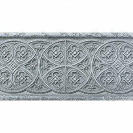 Заборчики, сетки и бордюрные ленты - бордюр empyreal light grey 30х10, 0