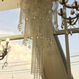 Люстры и потолочные светильники - Люстра каскадная хрустальная, 0