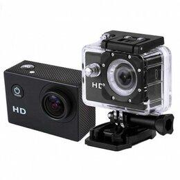 Видеокамеры - Action камера черная, 0