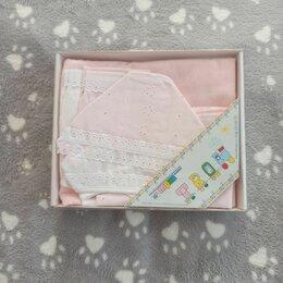 Белье - Подарочный комплект для новорожденной, 0