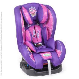 Автокресла - Детское кресло «Смешарики», группы 0+/1 (0-18 кг/0-4 года), полиэстер, поролон 3, 0