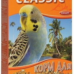 Корма - FIORY корм для волнистых попугаев CLASSIC 400 г , 0