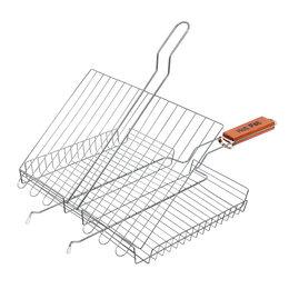 Решетки - Универсальная глубокая большая решетка-гриль Hot Pot 61341, 0