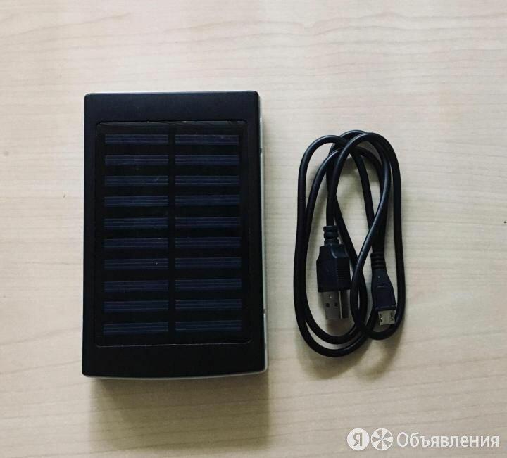 Power bank 20000 mAh на солнечной батарее по цене 1200₽ - Универсальные внешние аккумуляторы, фото 0
