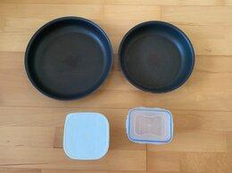 Сковороды и сотейники - Сковородки Tefal + 2 контейнера.Франция , 0
