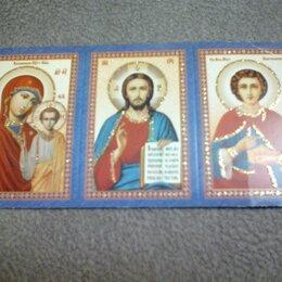 Картины, постеры, гобелены, панно - Триптих с молитвой, 0