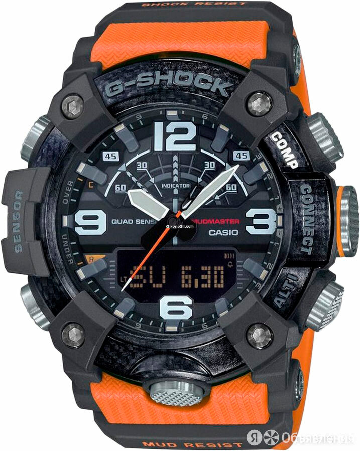 Наручные часы Casio GG-B100-1A9ER по цене 37390₽ - Умные часы и браслеты, фото 0